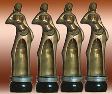 Kerala State Film Award Sculptures